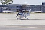 Cessna 182T Skylane (VH-JXV) taxiing at Wagga Wagga Airport.jpg