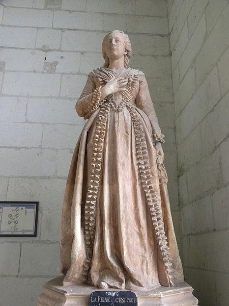 Fichier:Château de Chambord - La Reine, c'est moi.JPG