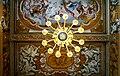 Chandelier and frescos in Galleria Spada (Rome).jpg