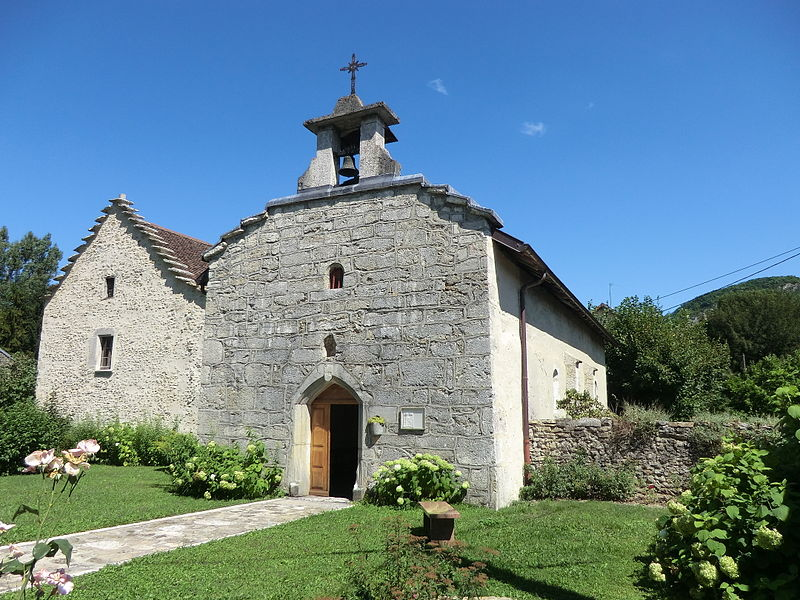 Saint-George chapel of Pugieu (Ain, France).