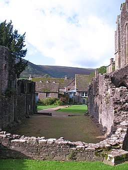 Chapter House, Llanthony Priory (geograph 2690928)
