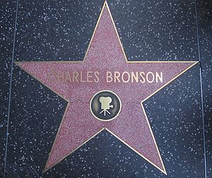 Charles Bronson - Bronson's star on the Hollywood Walk of Fame