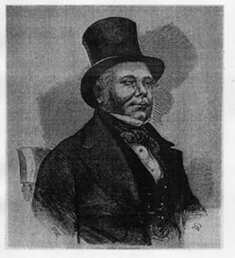 Charles Frederick Field - Field in an 1855 engraving.