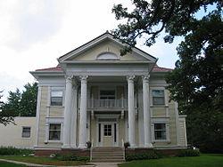 Charles J. Thompson House, Forest City, Iowa.JPG