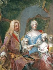 Charles VI with family