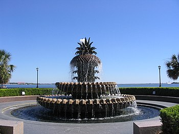 "English: The ""Pineapple Fountain"" lo..."