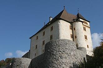 Valangin - Image: Chateau de valangin