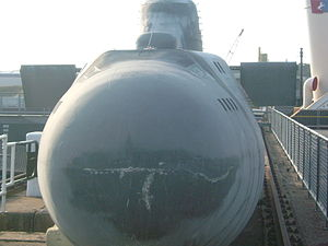 The World Is Not Enough - Russian Victor III-class submarine used in filming.