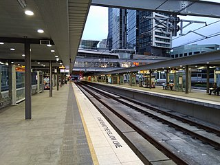 Chatswood railway station railway station in Sydney, New South Wales, Australia
