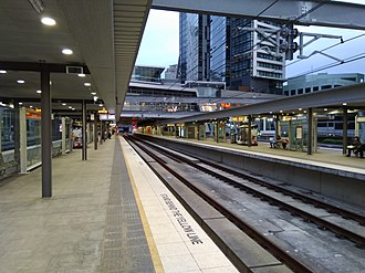 Sydney Metro - Chatswood railway station, which will be serviced by Sydney Metro. It will be the initial terminus prior to the extension to Bankstown.