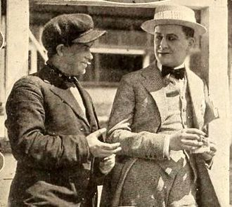 Tammany Young - Tammany Young and Thomas Carrigan in Checkers (1919)