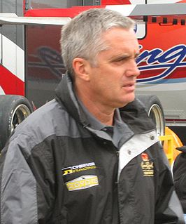 Eddie Cheever in 2008