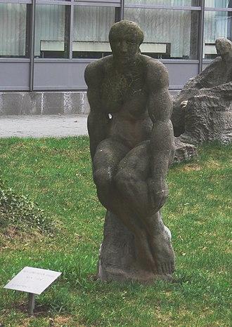 Gerd Jaeger - Image: Chemnitz Skulpturengarten Jaeger Vita 2 cropped