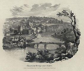 Chepstow Bridge and Castle