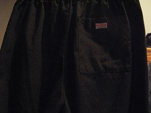 Cherokee Inc. - Back view of Cherokee Workwear drawstring pants