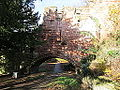 Chester city walls in The Water Tower Gardens (1).jpg