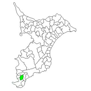 Miyoshi, Chiba Former municipality in Kantō, Japan