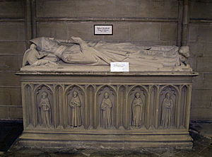 Robert de Stratford - Tomb of Robert de Stratford in Chichester Cathedral