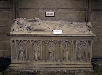 Robert de Stratford - Tomb of Robert de Stratford in Chichester Cathedral