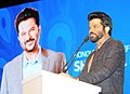 Chief Guest Actor Anil Kapoor addressing at the inauguration of the 46th International Film Festival of India (IFFI-2015), in Panaji, Goa on November 20, 2015.jpg