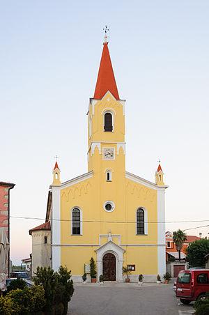 Brtonigla - Church in Brtonigla/Verteneglio