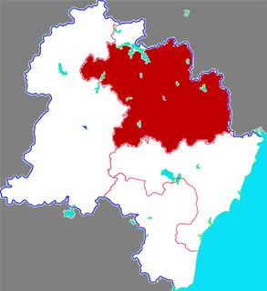 Wulian County County in Shandong, Peoples Republic of China