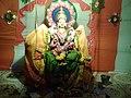 Chinalingala Dussera 2014 Sri Bala Tripurasundhari devi Alamkaram by Girikonda.jpg