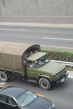 Chinese military truck in Bejing.jpg