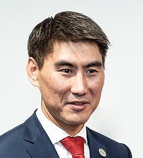 Chingiz Aidarbekov Kyrgyz diplomat