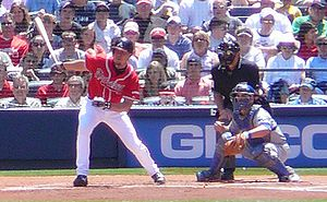 Chipper Jones - Jones with the Braves in 2008
