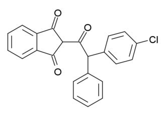 Vitamin K antagonist - Image: Chlorophacinone