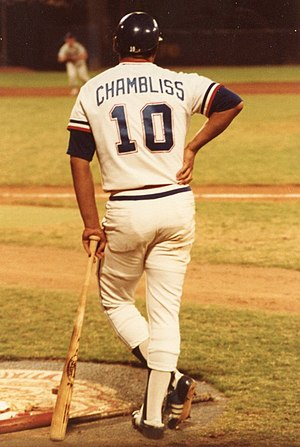 Chris Chambliss - Chambliss as a member of the Atlanta Braves in the 1980s.