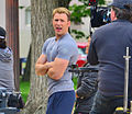 Chris Evans filming Captain America in DC.jpg