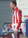 Chris van der Drift with his podium trophies at SF 2010.jpg