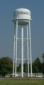 Chrisman Illinois water tower.png