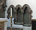 Christ Church, Southgate, Piscina and sedilia.jpg