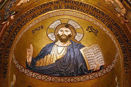Christ Pantocrator - Capela Palatina - Palermo - Italy 2015