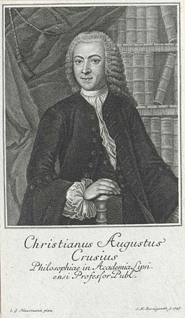 Christian August Crusius