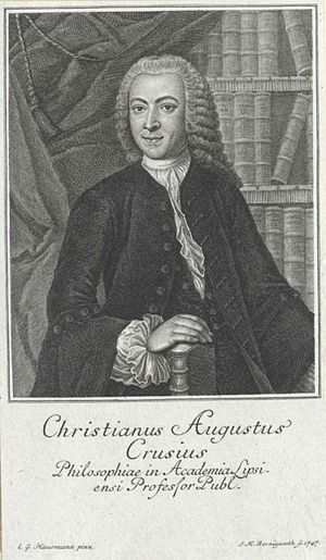 Leuna - Christian August Crusius in 1747