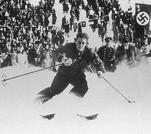 Christl Cranz - Cranz at the 1936 Olympics