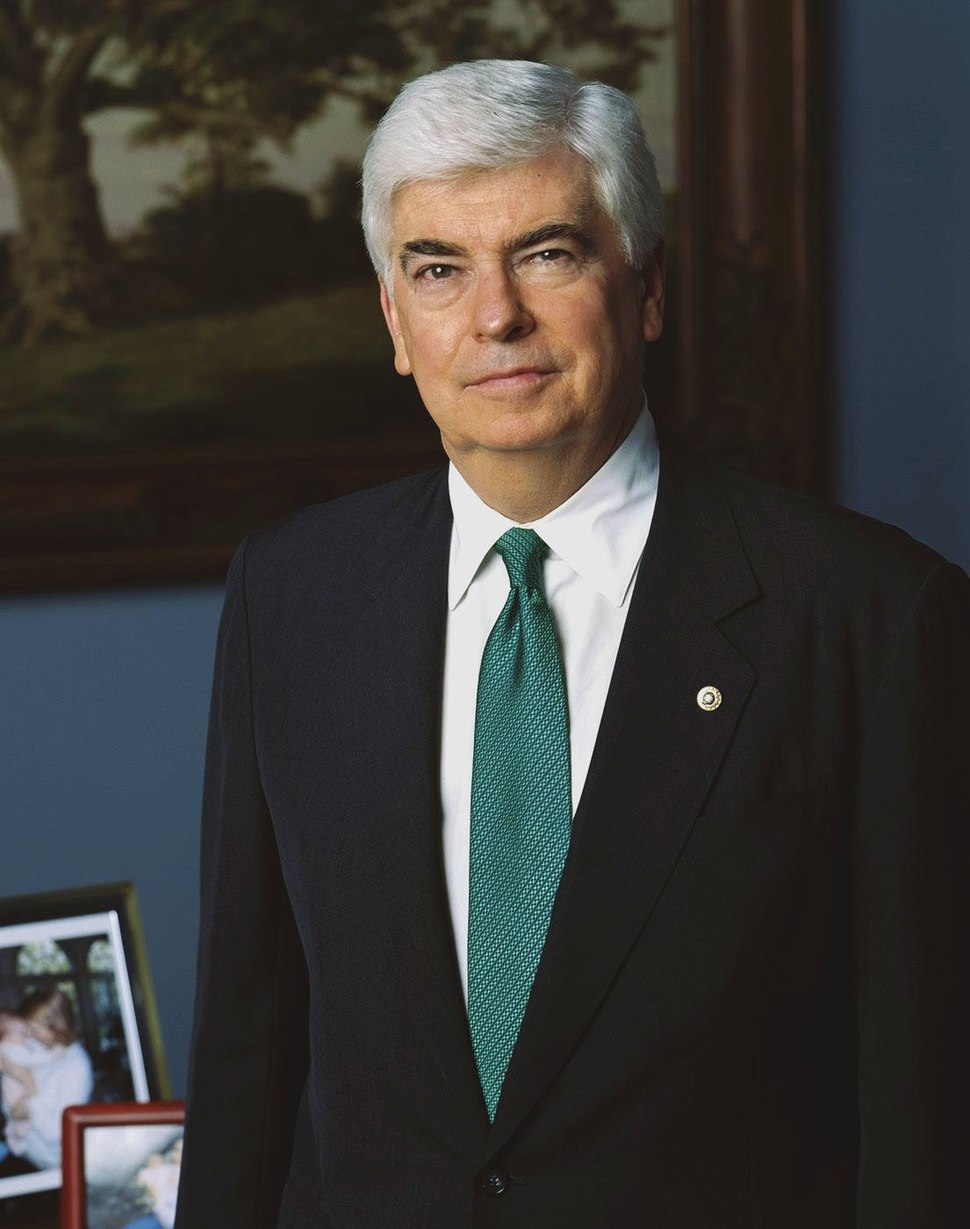 Christopher Dodd official portrait 2