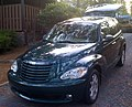 Chrysler PT Cruiser green open tailgate-f.jpg