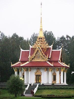 Buddhism in Sweden - The Thai pavilion in Jämtland