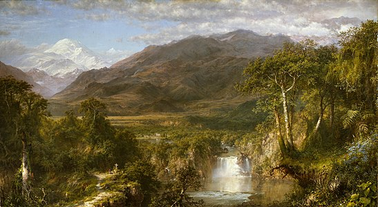 The Heart of the Andes, a notable painting by Frederic Edwin Church