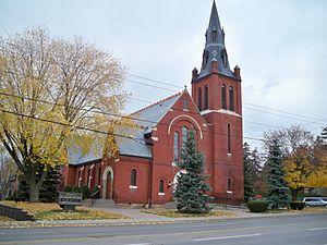 Oshawa - A historic church in Oshawa