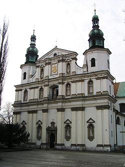 Church of Saint Bernardino in Kraków.JPG