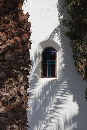 Church of the town of Yaiza - Lanzarote - Spain. Y31.jpg