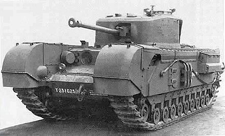 Late model Churchill infantry tank Churchill VII.jpg