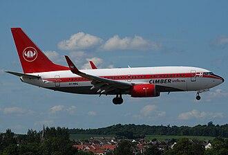 Cimber Sterling - Boeing 737-7L9