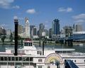 Cincinnati view and paddleboat, Cincinnati, Ohio LCCN2011630551.tif